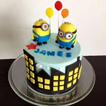 Minions with balloons: Gifts for 2Nd Birthday