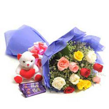 Mix N Match: Flowers & Teddy Bears for Mothers Day