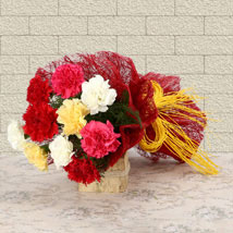 Mixed Colored For Love: Send Romantic Flowers for Boyfriend
