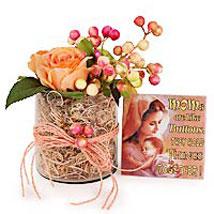 Mom Rocks:  Artificial Flowers for Wedding