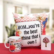 Munificent Mommy: Send Mothers Day to Gandhinagar