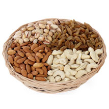 One kg Dry fruits Basket: Diwali Gifts