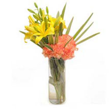 Orange Delight: Lilies for Her