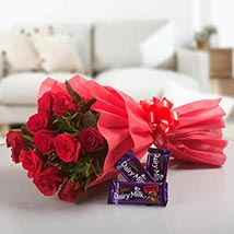 Passionated For Love: Flowers & Chocolates for Propose Day