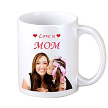 Personalised Never ending Luv for Mum: Mugs for Mother's Day