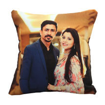 Personalize Photo Cushion: Send Gifts to Rewa