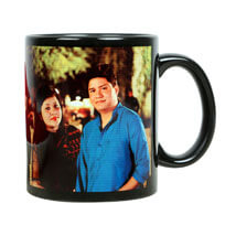 Personalized Couple Mug: Send Personalised Gifts to Bhiwandi