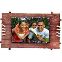Personalized Framed Photo Rock: Personalised Photo Frames - Love