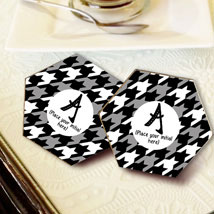 Personalized Letter Coasters: Coasters Gifts