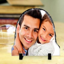 Personalized Photo Rock: Fathers Day Personalised Gifts