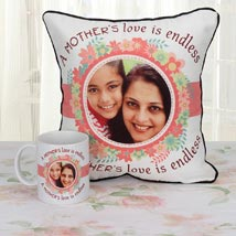 Personalized Tears Of Joy Combo: Personalised Cushions for Mothers Day