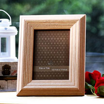 Personalized Wooden Charm: Personalised Photo Frames - Love