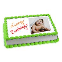 Photo Cake Pineapple: Send Photo Cakes to Bengaluru