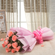 Pink Delight: Send Roses to Noida