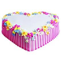 Pretty Heart Cake: Send Heart Shaped Cakes for Birthday