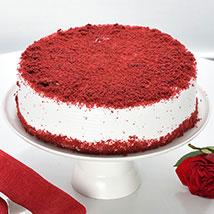 Red Velvet Fresh Cream Cake: Good Luck Cakes