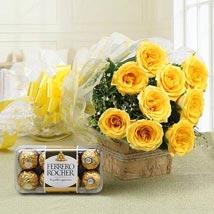 Royal Retreat: Flowers & Chocolates for Karwa Chauth