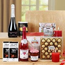 Sensational Treat Gift Basket: Send Friendship Day Chocolates