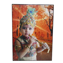 Small Personalized Mounted Photo: Send Personalised Photo Frames for Her