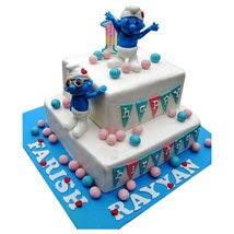 Smurfs Birthday Cake: Send Cakes On 2Nd Birthday