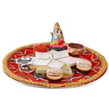 Special Janmashtami Combo: Send Pooja Thali to Hyderabad