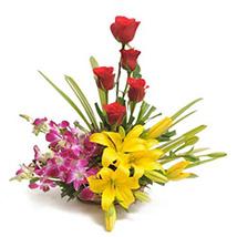 Sweet Splendor: Mixed Flowers