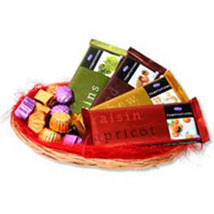 Temptations chocolate Basket: Send Gift Baskets to Chennai