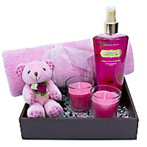 Tempted To Unveil The Secret: Valentine Cosmetics & Spa Hampers
