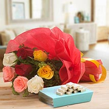 Tempting Treat: Send Flowers & Sweets