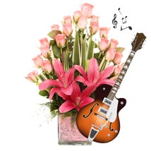 The Pink Musical Romance: Holi Flowers