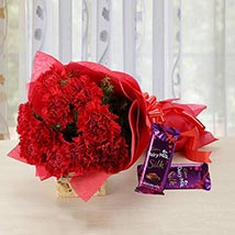 Time to Express: Flowers & Chocolates for Chocolate Day
