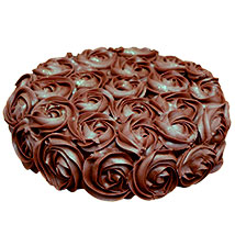 Valentine Chocolate Rose Cake: Valentines Day Gifts