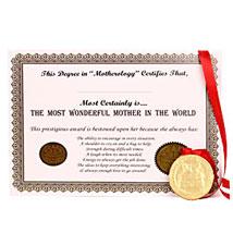 Wonderful Mommy Award:  Chocolates for Womens Day