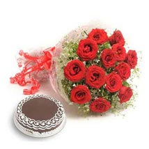 The Red Enchanting Blooms: Gifts to Nepal