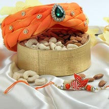 Amazing Orange Hamper: Send Rakhi to UAE