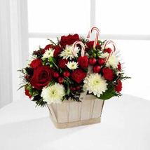 The White Candy Bouquet: Valentines Day Flower Bouquets UAE