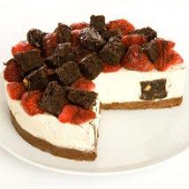 Strawberry Brownie Cheesecake: Cakes to Wolverhampton