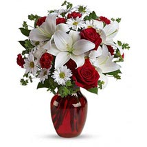 Be My Love Bouquet with Red Roses: Flowers to Plano