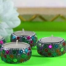 Designer Diyas: Diwali